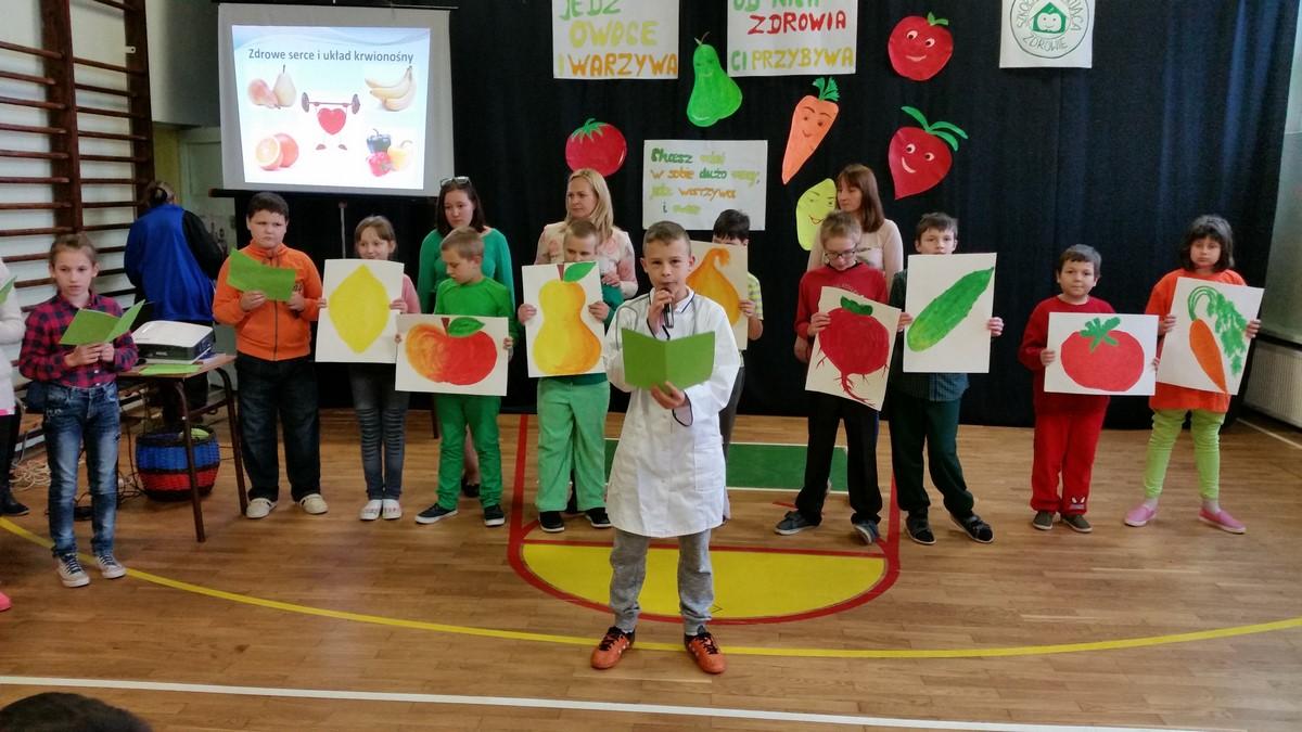 Apel na temat wartości odżywczych owoców i warzyw