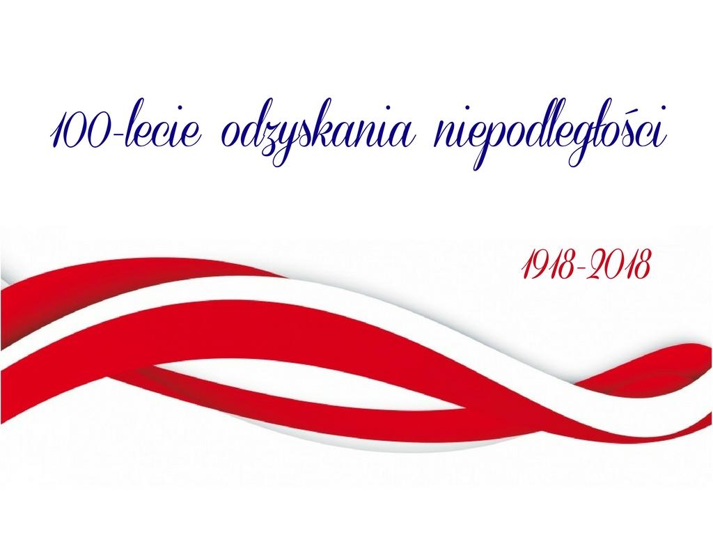 Harmonogram uroczystości obchodów 100-lecia Odzyskania Niepodległości