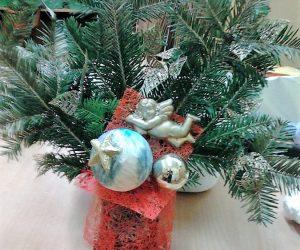 Wykonujemy świąteczne dekoracje
