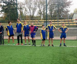 """Mistrzostwa Województwa LSS """"Sprawni-Razem"""" w piłce nożnej do lat 16"""