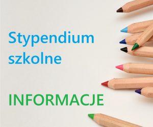 Stypendium szkolne 2019