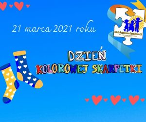 21 marca 2021 Dzień Kolorowej Skarpetki