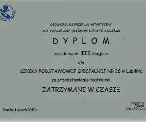 """Ogólnopolski Przegląd Artystyczny """"MOTYWACJE 2017"""""""